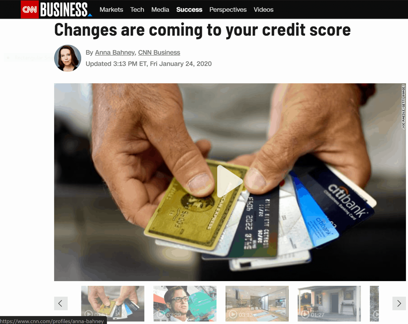 Credit Changes