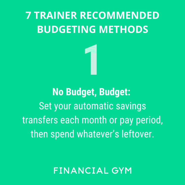 7 Trainer Recommended Weekly Spend Tracking Techniques